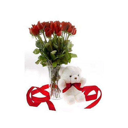 Red Rose Shower - Uzbekistan Delivery Only