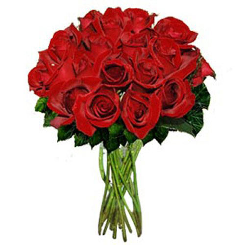 18 Red Roses - Lithuania Delivery Only