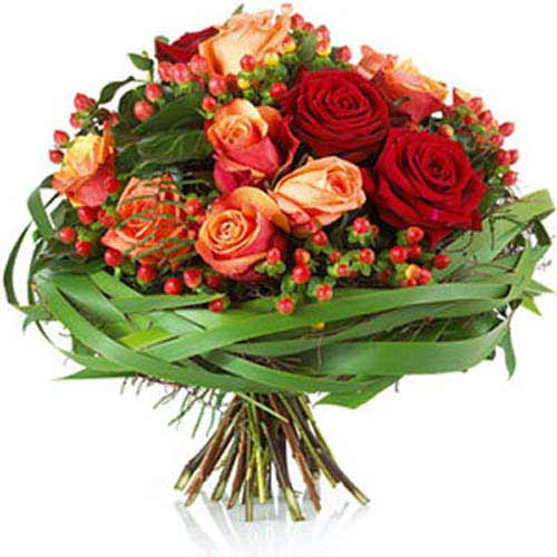 Dew Roses - Luxembourg Delivery Only