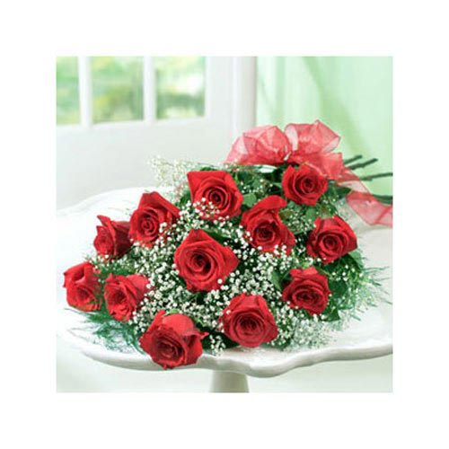 Red Dozen Roses - Iceland Delivery Only