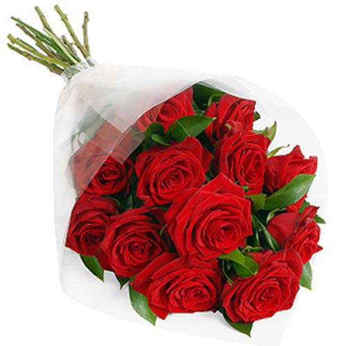 12 Red Roses Gift Wrap