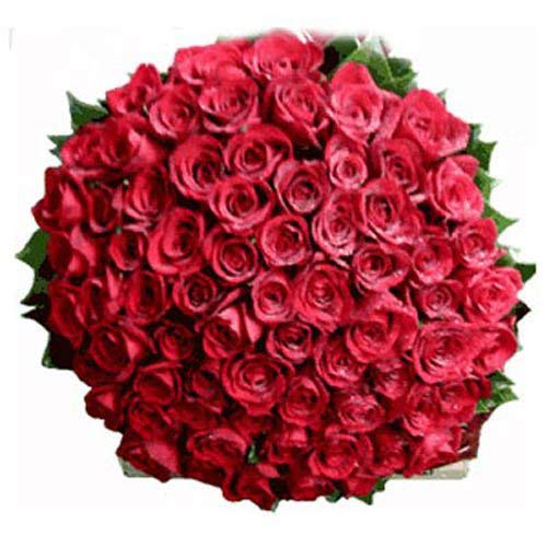 100 Long Stem Red Roses - Belgium Delivery Only