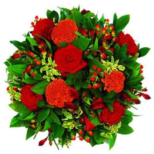 Red Rose Posy - France Delivery Only