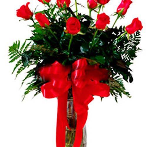 11 Rose Bouquet - Romania Delivery Only