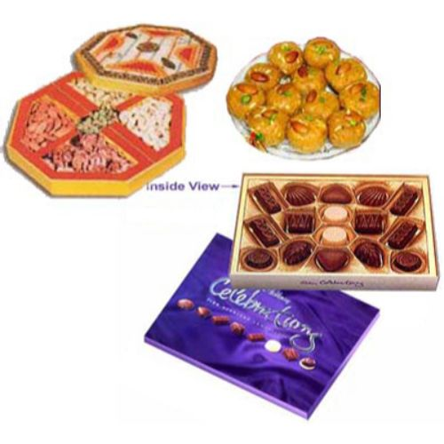 Rakhi Gift Hamper - 37 - USA Delivery Only