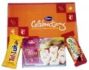 Crunchy Rakhi Hamper with Sweet - UK Delivery Only