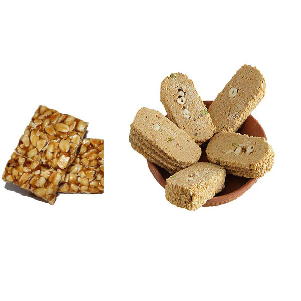 Sugar - Gazak & Peanuts 'chikkis'