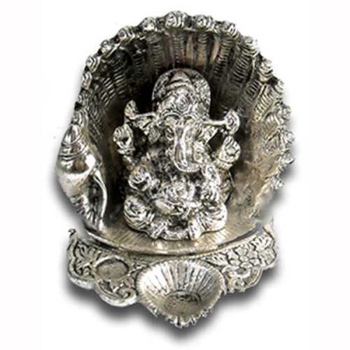 Lord Ganesh & Sheshnag - 3 - USA Delivery Only