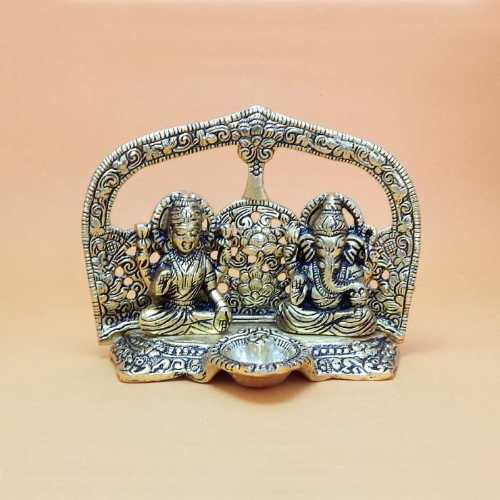 Lord Ganesh & Goddess Lakshmi - USA Delivery Only