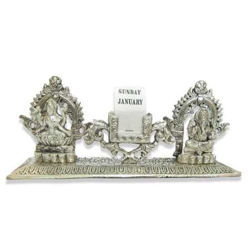 Lord Ganesh Lakshmi Table Calender - 11035