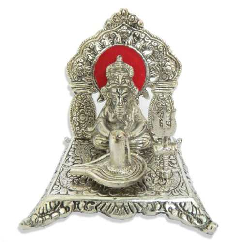 Lord Ganesh & Shiv Linga - 11036 - Australia Delivery Only