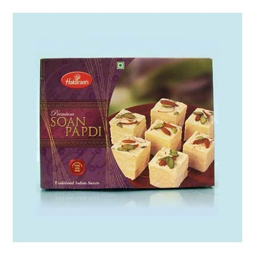 Haldiram's Soan Papdi 500 gms with Rakhi - US Delivery Only