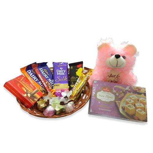 Pyaar ka Chocolaty Uphar Hamper - Canada Delivery Only