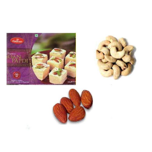 Soan Papdi & Dry Fruit Hamper - 11054 - USA Delivery Only