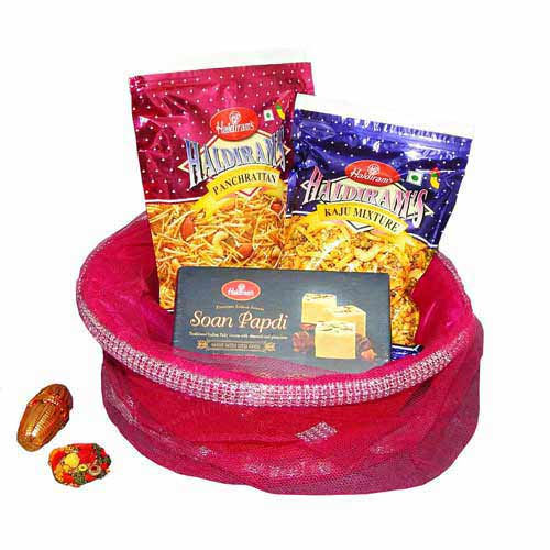 Haldiram's Hamper With Basket - Australia Delivery Only