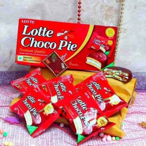 Lotte Choco Pie Chocolate - UK Delivery Only