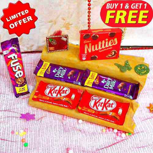 Combo Of 6 Chocolates - Buy 1 Get 1 Free - Australia Only