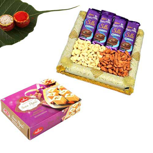 Sweet & Dry fruits with Chocolate