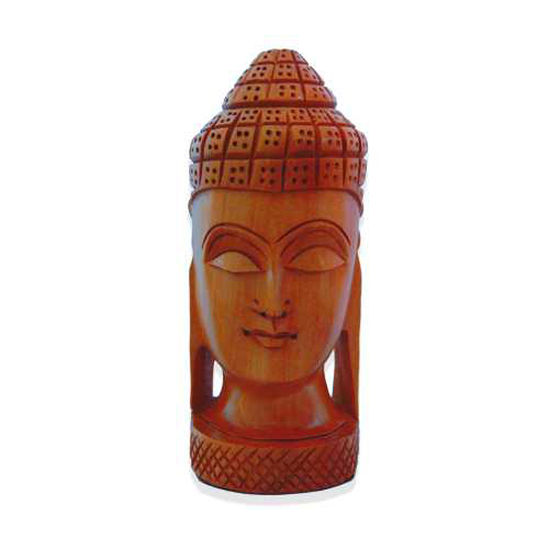 Kadam Wood Buddha Head
