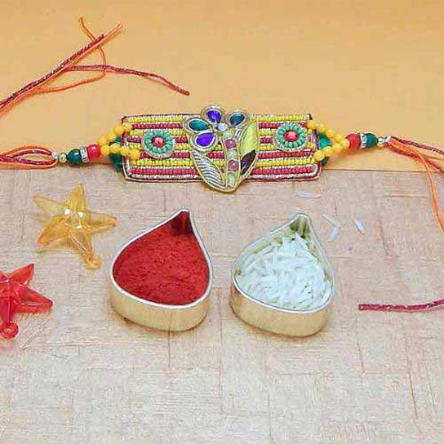 Exclusively Special Beads Rakhi
