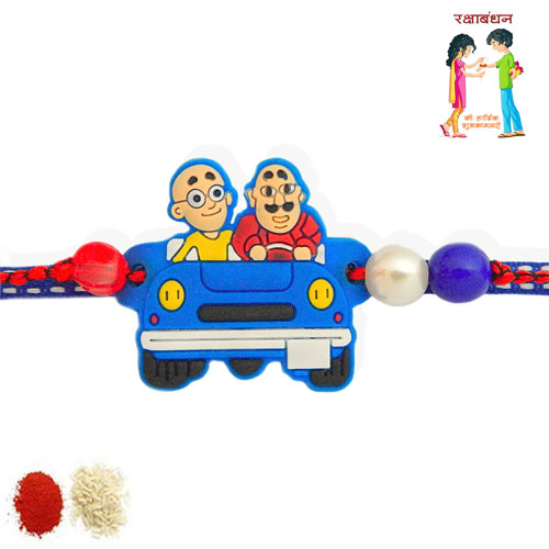 Motu - Patlu Rakhi - USA Delivery Only