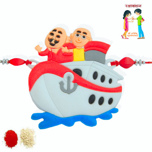Motu - Patlu Rakhi - 2 - USA Delivery Only