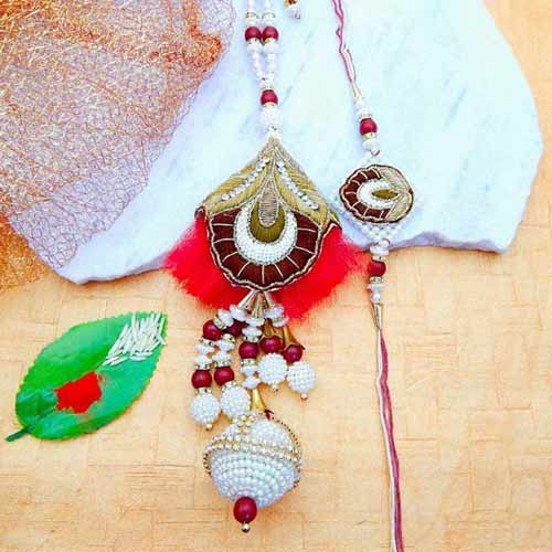 Ravishing Rakhi Lumba Set