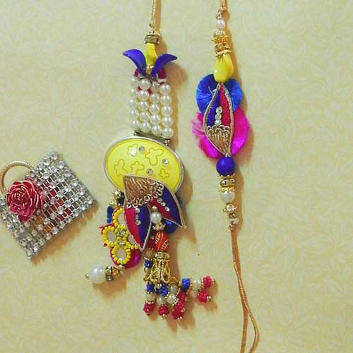 Enticicng Rakhi Lumba Set - Australia Delivery Only