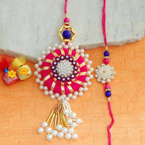 Marvelous Rakhi Lumba Set
