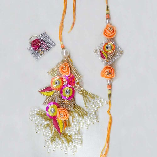 Dazzling Rakhi Lumba Set - 2 - Add On