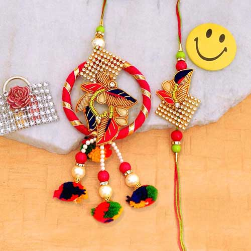 Smashing Rakhi Lumba Set - 2 - Australia Delivery Only