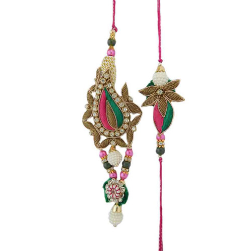 Cherishing Rakhi Lumba Set - AUSTRALIA Delivery Only