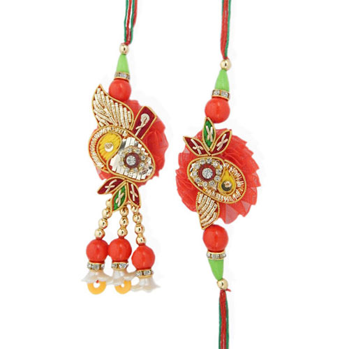 Eminent Rakhi Lumba Set - UK Delivery Only