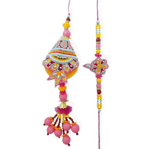 Forever Rakhi Lumba Set - CANADA Delivery Only