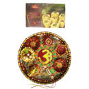 Om Puja Thali with 500 Gms Sonpapdi - 14