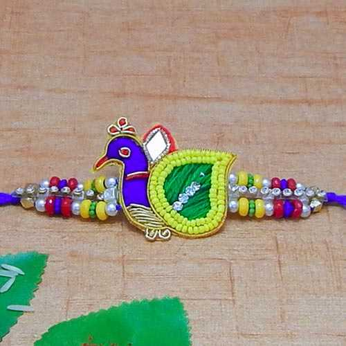 Exclusive Peacock Rakhi