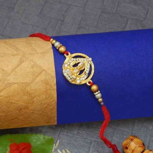 Goddess Lakshmi Rakhi - UK Delivery Only