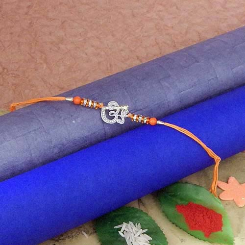 Divine Om Rakhi - 3 - USA Delivery Only