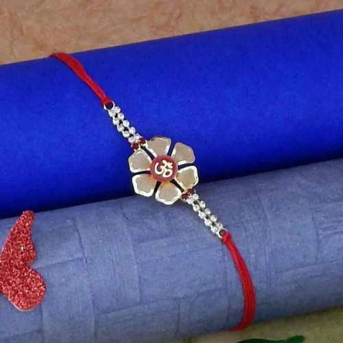 Exquisite Om Rakhi Thread - USA Delivery Only