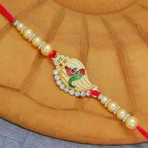 Ganesha Blessings Rakhi - AUSTRALIA Delivery Only