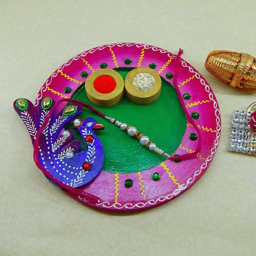 Exclusive wooden Puja thali - Australia Delivery Only