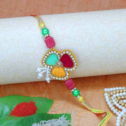Glorious Rakhi - 01 - AUSTRALIA Delivery Only