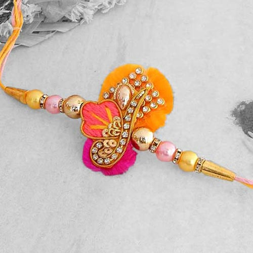 Attractive Designer Rakhi - USA Delivery Only