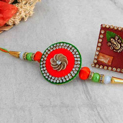 Exquisite Rakhi - USA Delivery Only