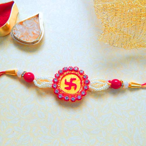 Enthralling Rakhi - USA Delivery Only