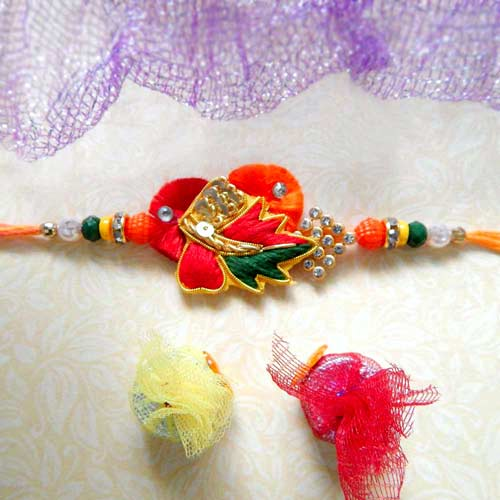 Alluring Thread Rakhi - USA Delivery Only