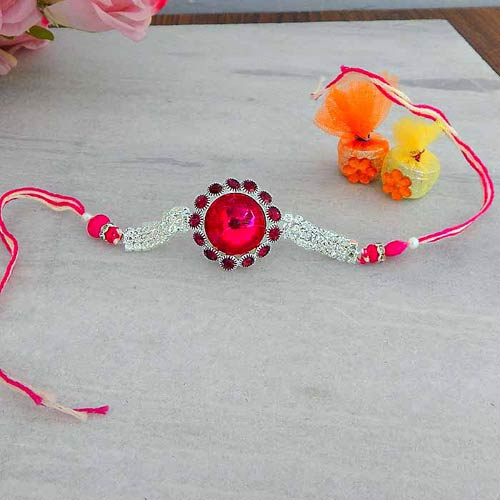 One Of The Most Beautiful Bracelet Rakhi - USA Delivery Only