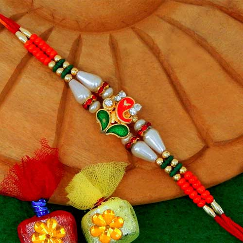 Blissful Ganesh Ji Rakhi - AUSTRALIA Delivery Only