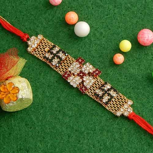 Exceptional Swastik Rakhi - USA Delivery Only