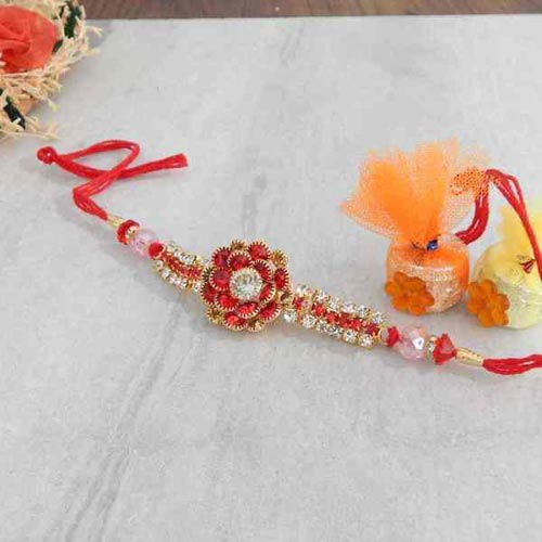 Attracting Floral Rakhi